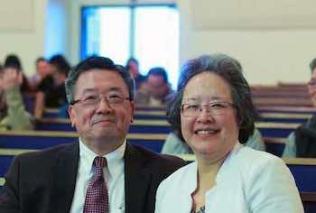 Pastor Lee and Mrs. Lee